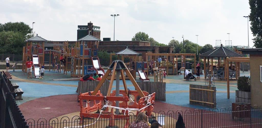 hampstead heath playground