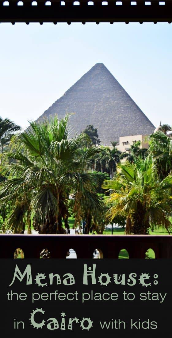 The Marriott Mena House is a lovely oasis in the noisy and chaotic Cairo. the perfect place where to go back and relax after sightseeing around...with or without kids.