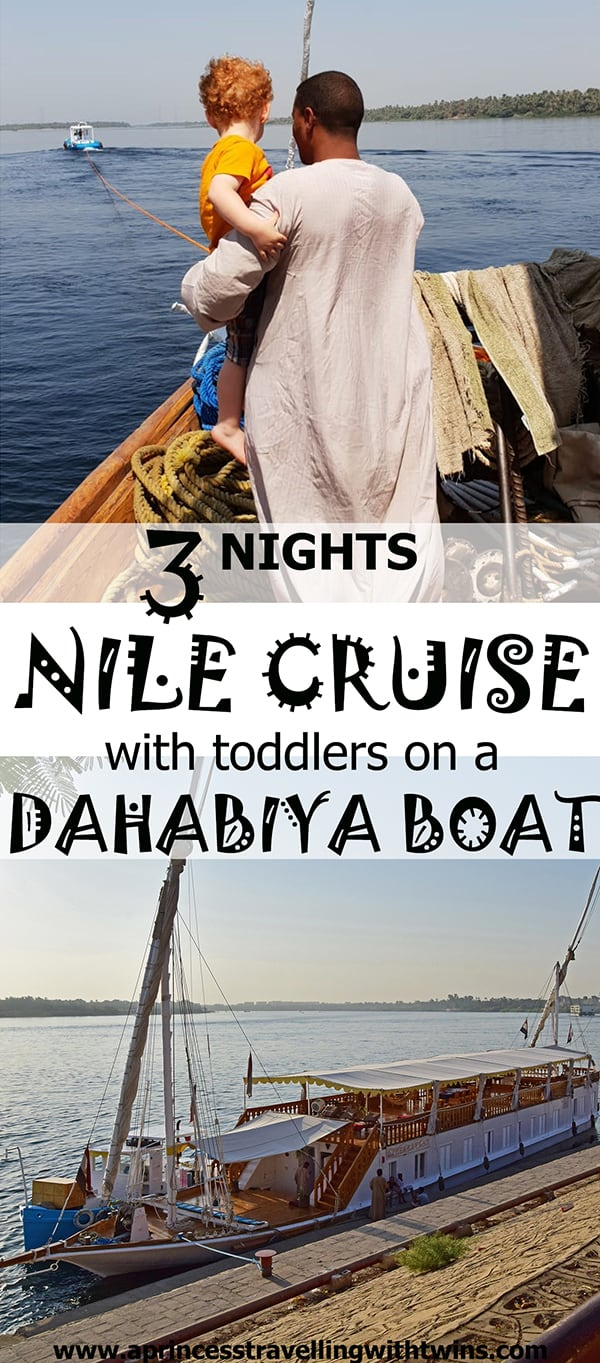 A Nile cruise on a dahabiya boat is an unforgettable experience...even with toddlers. Read about our experience on the Zekrayaat dahabiya. We spent 4 days sailing the Nile with other 3 couples and our 2 and half years old twins.