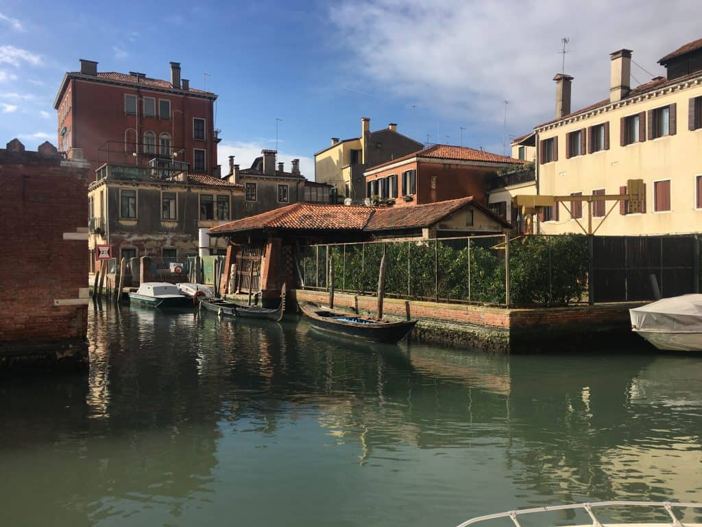 best 24 hours in Venice. Gondola factory