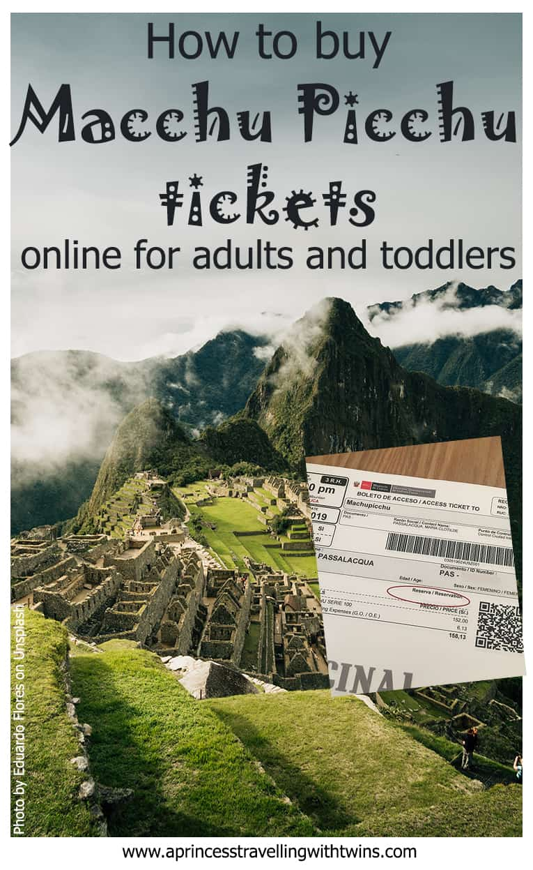 Step by step guide to buy online tickets to Macchu picchu as an indipendent traveller. Tips in case you travel with toddlers or if you have a UK passport. #macchupicchutickets #macchupicchuindipendently #travelmacchupicchu