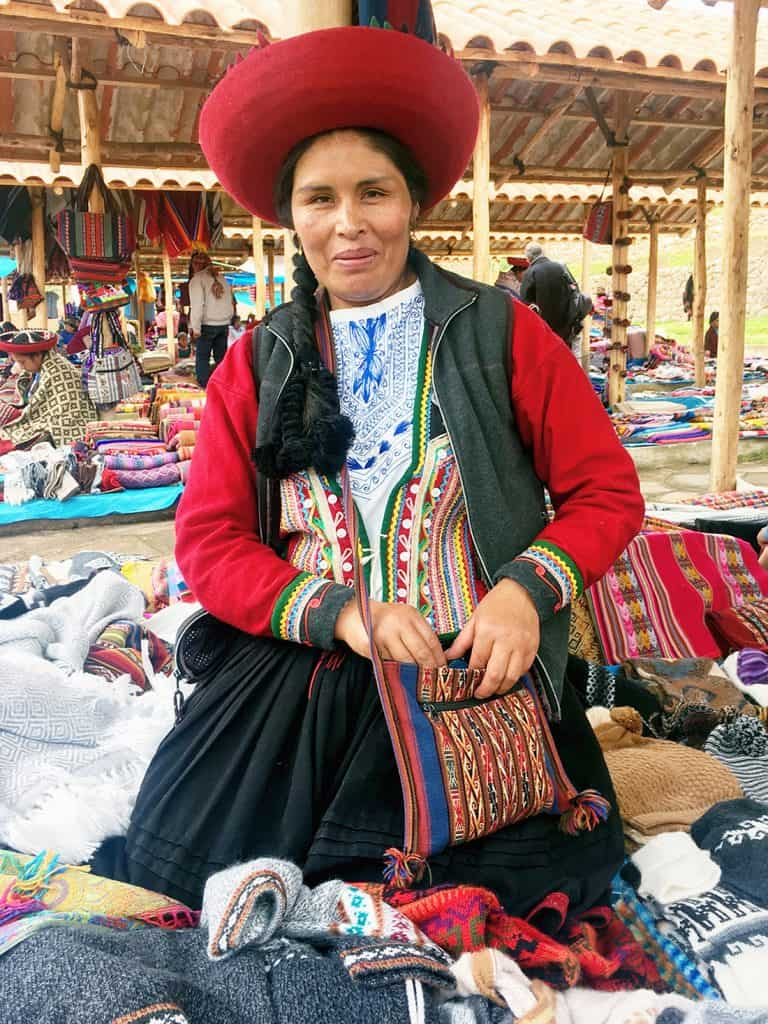 Chinchero market: a lovely market and not very touristy