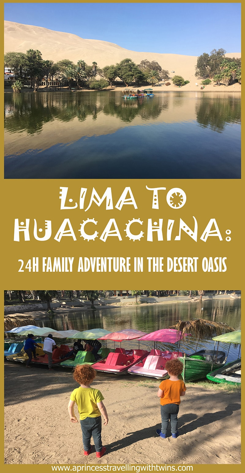 Huacachina oasis isn\'t only a stop for young traveler or backpackers, could be super fun also with kids, in here how to organize a Lima to Huacachina trip!