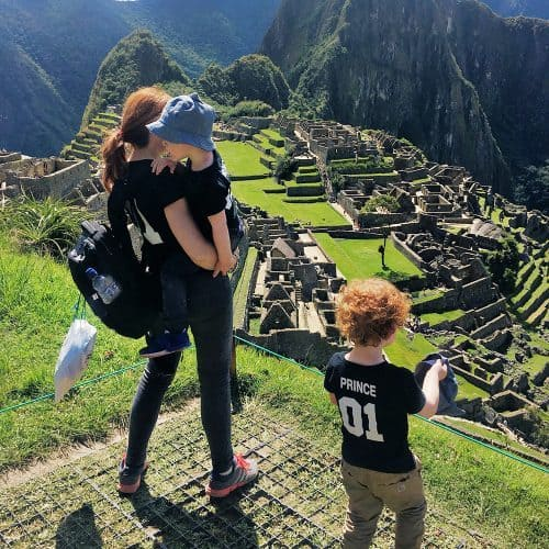Machu Picchu: they maybe will not remember it, but I will never forget being there with them